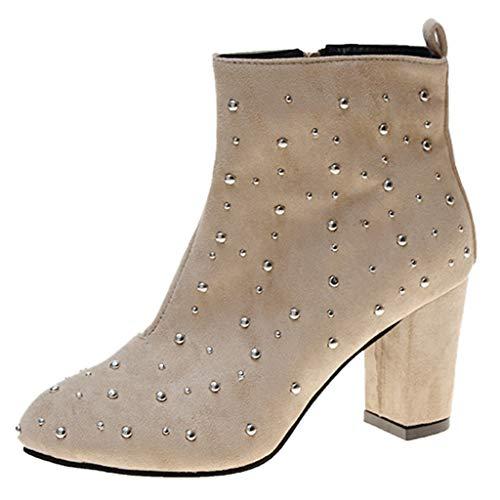 DOLDOA Schuhe Mode Frauen Sommer Sexy Fischmundschuhe rutschfeste Gitter High Heel Sandalen
