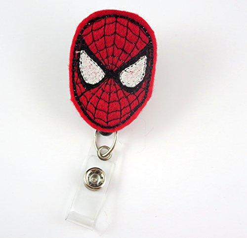 Superhero Inspired - Nurse Badge Reel - Retractable ID Badge Holder - Nurse Badge - Badge Clip - Badge Reels - Pediatric - RN - Name Badge Holder