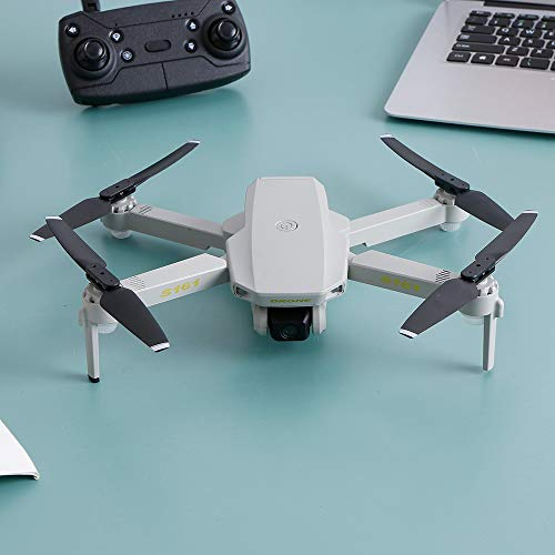 Leeofty S161 Mini Pro Drone with Camera 4k Optical Flow Positioning Dual Camera Altitude Hold Gesture Photos Video 3D FILP Track Flight
