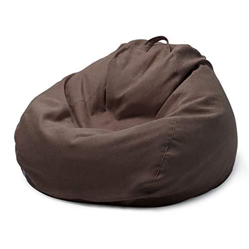 SD Bean Bag Chaise/Pouf Poire/Grande Fauteuil/Confortable/avec Mousse Ultra Confortable/avec Fermeture Éclair/pour Enfants Et Adultes90 * 110 cm
