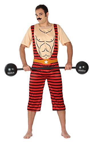 Atosa- Disfraz Hombre forzudo, Multicolor, M-L (7104)