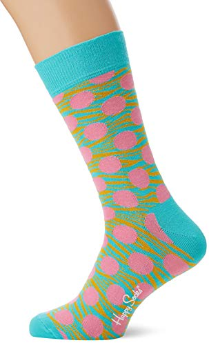 Happy Socks Tiger Dot Sock Calcetines, Multicolor (