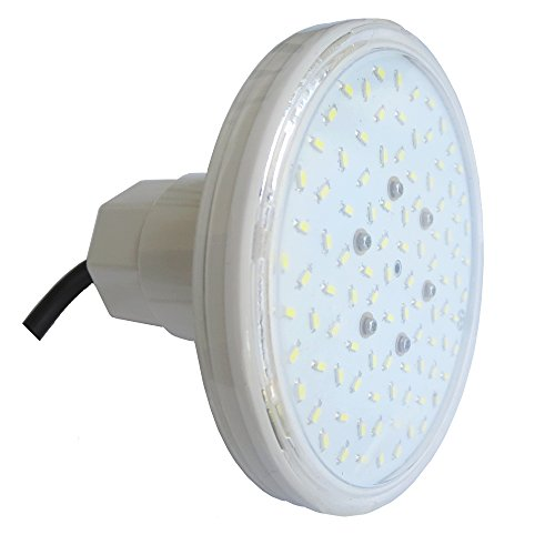 """LED Pool Scheinwerfer RGB Multicolor 12VAC Außengewinde 1 ½"""""""