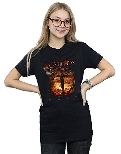 Black Veil Brides Damen Vale Cover Boyfriend Fit T-Shirt Schwarz Medium