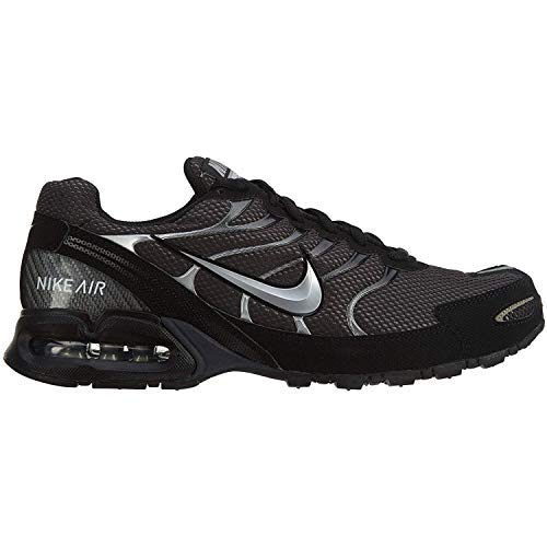 Nike Men's Air Max Torch 4 Running Shoes, Anthracite/Metallic Silver-Black, 10 D(M) US