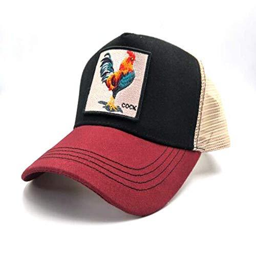 sdssup Gorra de béisbol del águila del Gallo Primavera y otoño ...