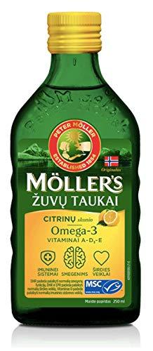 Möller's - Aceite de hígado de bacalao con omega 3