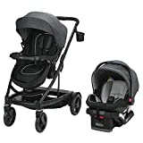 Graco Uno2Duo Travel System | Includes UNO2DUO Stroller and SnugRide SnugLock35 Infant Car...
