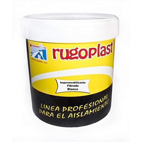 Rugoplast - Vernice antigoccia in fibra di vetro, ideale per eliminare le goccioline dalla terrazza, tetto, casa, OT-5PPK-S8F0
