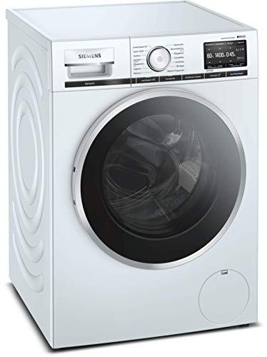 Siemens iQ800 WM14VG40 Waschmaschine / 9 kg / A+++ / 152 kWh / 1400 u/min / WLAN-fähig mit Home...