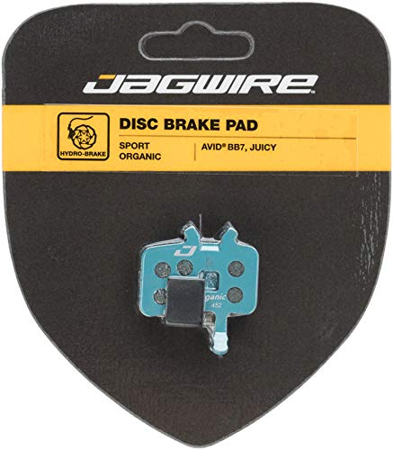 Jagwire Deporte Organic Disc Brake Pad-avid BB7, juicy-new18–Pastilla de Freno para Adulto,...