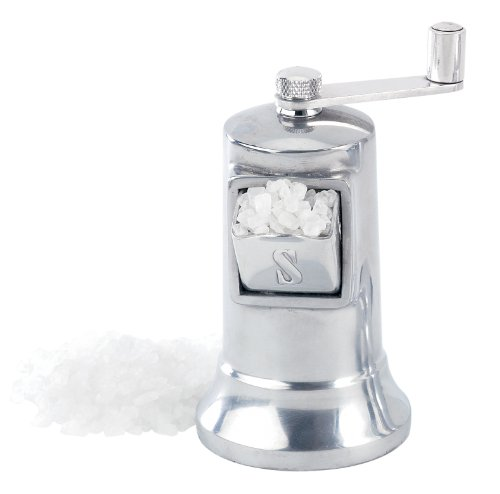 Perfex Adjustable Salt Grinder Mill, Made in France, Stainless Steel Mechanism, 4.5-Inches