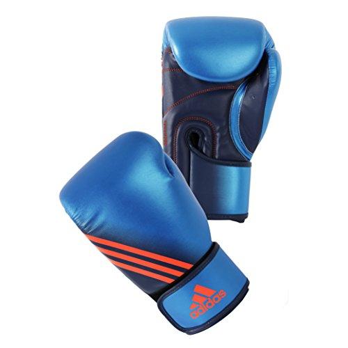 adidas Speed 200 Boxing Gloves (M/Blue, 12oz)