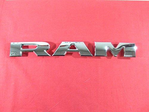 2019 DODGE RAM Chrome RAM Grille Nameplate NEW OEM MOPAR