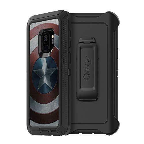 OtterBox Defender Series Disney Marvel Avengers Case for Samsung Galaxy S9 VIBRANIUM