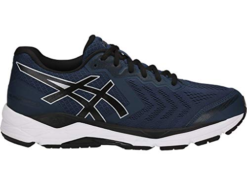 ASICS Men's Gel-Foundation 13 Running Shoes, 11M, Dark Blue/Black/White