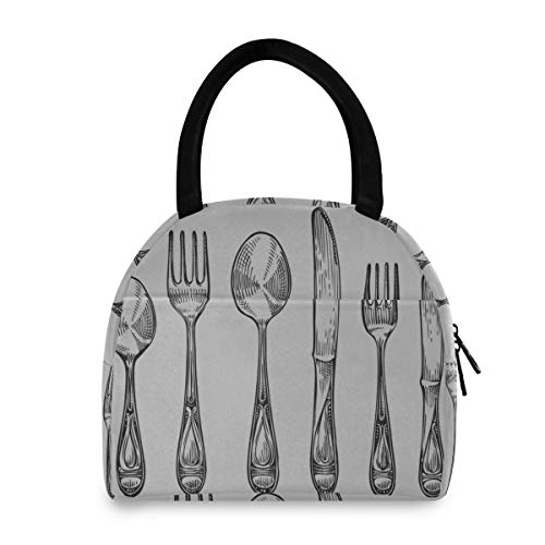 Kids Lunch Box Cutlery Set Spoons Forks And Knifes Boys Lunchbags Best Lunchbags For Women Men Adults College Work Picnic Hiking Beach Fishing