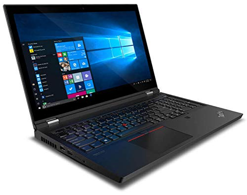 Lenovo ThinkPad P15 Gen 1 - High-End Workstation Laptop: Intel 10th Gen i7-10875H Octa-Core, 128GB RAM, 4TB NVMe SSD (2x2TB), 15.6' FHD IPS HDR Display, NVIDIA Quadro T2000, Win 10 Pro, Black