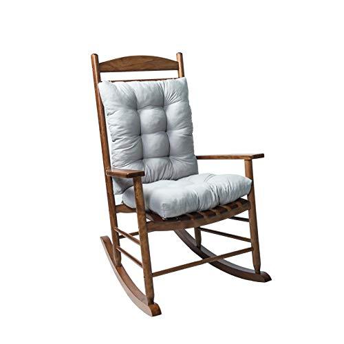 WOYAOFEI Wicker Seat Cushion Rocking Chair Cushion, Sanding Chair, Recliner Chair, High-Backed Chair, Padded Seat Cushion with Soft Foam Core, Indoor Outdoor Cushion, 53 x 43 cm (W x 2)