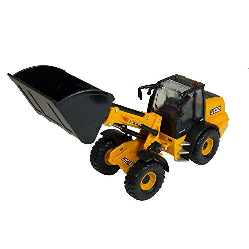 Tomy 43231 1/32 Chargeur sur roues télescopique JCB TM420 miniatuurmodel, geel