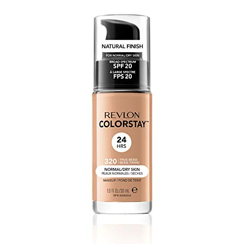 Revlon ColorStay Makeup with SoftFlex, Normal/Dry Skin, True Beige 320, 1 Ounce (Pack of 2)