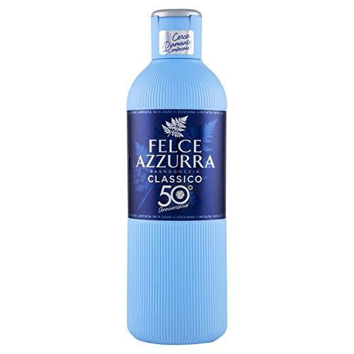 Felce Azzurra Original Duschgel - 6 Packungen mit 650 ml - Gesamt: 3900 ml