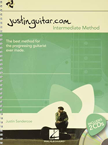The Justinguitar.com Intermediate Method (Book/2CD): Noten, CD für Gitarre (Book & 2 Cds)