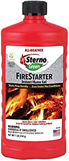 Sterno All- Weather Instant Flame Gel Fire Starter