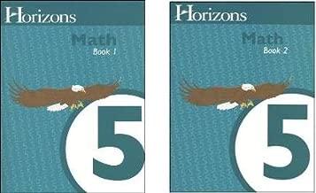 Horizons Math 5 SET of 2 Student Workbooks 5-1 and 5-2