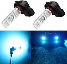 Alla Lighting 3600lm Xtreme Super Bright 9006 LED Bulbs 9006 Fog Light High Illumination ETI 56-SMD LED 9006 Bulb HB4 9006 Fog Lights Lamp Replacement - 8000K Ice Blue