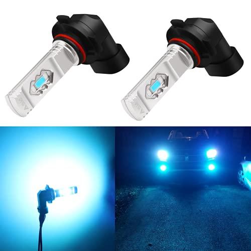 Alla Lighting H10 LED Fog Light Bulb, 9145 9140 ETI 56-SMD 3800 Lumens Extremely...