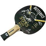 Butterfly Timo Boll SG55 - Bate de Tenis de Mesa, Aprobado por la ITTF (1,5 mm, Goma)