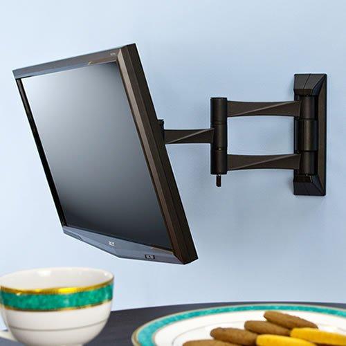 『テレビ 壁掛け 金具 STARPLATINUM 液晶 TV モニター 13-32インチ対応 TVセッターFS NA113 SSサイズ シルバー』の7枚目の画像