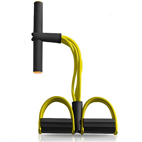 XinSa Corda di Tensione Multifunzionale, Fascia di Resistenza del Pedale, Utilizzato per Esercizi di Fitness a Casa, Esercizi Addominali, Yoga per l'Allenamento Dimagrante, ECC