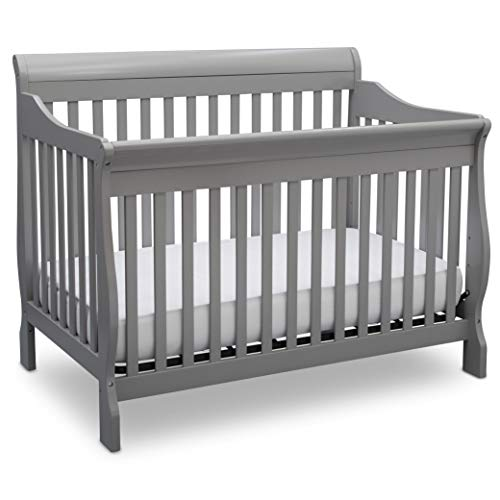 Delta Children Canton 4-in-1 Convertible Baby Crib, Grey