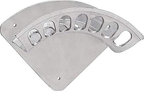 GEKA Wandschlauchhalter 266x108mm Größe 2 aus Aluminium, Silber, 48x28x28 cm