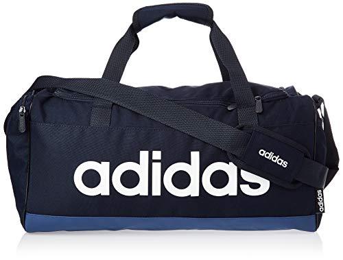 adidas Lin Duffle S, Borsa Sportiva Unisex – Adulto, Legend Ink/Tech Indigo/White, Taglia Unica