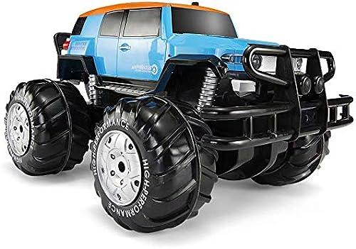 GG-kids toys RC-Auto 1 20 4WD Hochgeschwindigkeits-Off-Road-Ferngesteuertes Auto 45 km h 2,4 GHz All Terrain Funkgesteuertes Laufen Monster Truck 600mAh Lithium-Batterie blau