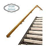 FAFZ Pretil (1ft-20ft) Pasamanos para Escaleras Interiores, Kit Completo De Pasamanos De Pino Antideslizante, Pasamanos De Lofts para Terrazas (Size : 13ft)