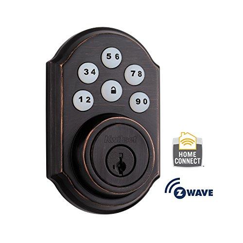 Kwikset 910 Door Lock for U.S., 910TRL ZW 11P SMT (Venetian Bronze), by Kwikset,...