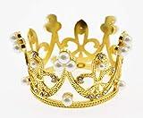 Olive-G きらきら 可愛い ティアラ 王冠 ヘアアクセサリー GOLD