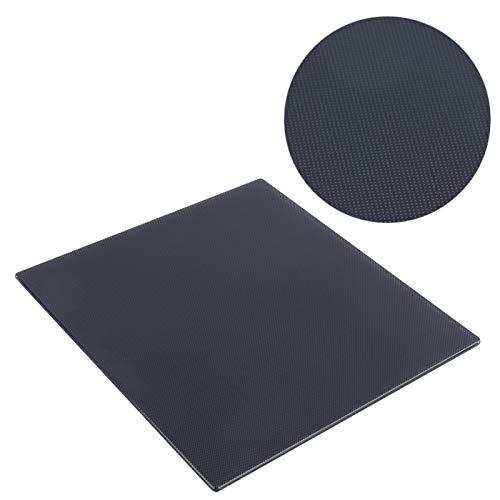 Placa de cristal CR10 / Ender3 de vidrio de silicona de carbono de 235 x 235 mm, plataforma de cama de vidrio para impresora 3D CNC