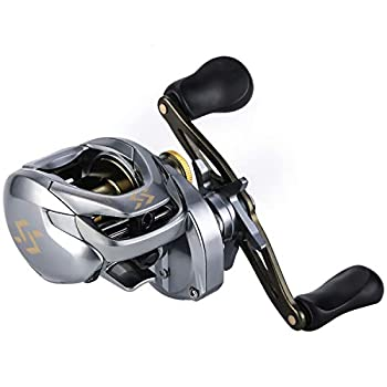 Sougayilang Fishing Baitcasting Reels 17.64LBs Drag Powerful Baitcasters ,11+1Shielded Stainless-Steel Ball Bearings Fishing Reels,High Speed Two-Tone Aluminum Spool Baitcaster