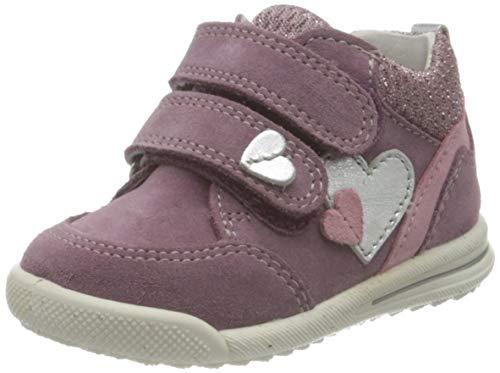 Superfit Avrile Mini Low-Top Sneakers Sneaker, LILA/ROSA, 22 EU