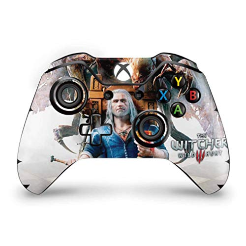 Skin Adesivo para Xbox One Fat Controle - The Witcher 3 Blood And Wine