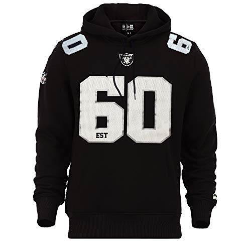 New Era Oakland Raiders Hoody NFL Established Number Black - 3XL