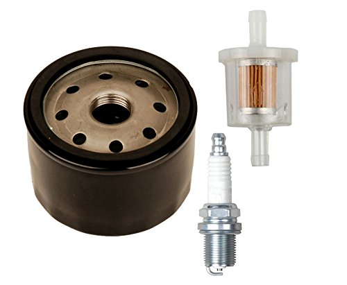 ouyfilters Ölfilter mit 493629Kraftstofffilter ersetzen für Briggs & Stratton 492056492932492932S 6953966968547958908429214154