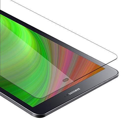 Cadorabo Panzer Folie kompatibel mit Samsung Galaxy Tab S2 (9,7 Zoll) - Schutzfolie in KRISTALL KLAR - Gehärtetes (Tempered) Bildschirm-Schutzglas in 9H Festigkeit mit 3D Touch Kompatibilität