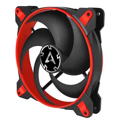 Arctic Bionix P140 Carcasa del Ordenador Enfriador Ventilador de PC (Carcasa del Ordenador, Enfriador, 14 cm, 200 RPM, 1950 RPM, 0.45 Sonio), Negro/Rojo
