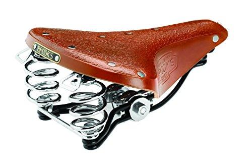 Brooks England Ltd Damen Sättel B66 S Unique Line Cityradsättel, Honey, One Size